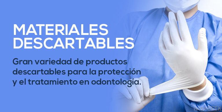 Materiales descartables